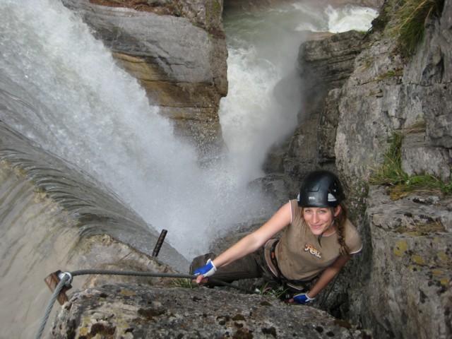 Klettersteig Leopoldsteinersee : Alpincenter » klettersteigbau